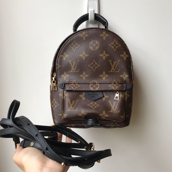 3a184aea6 Louis Vuitton Bags | Mini Palm Spring Backpack | Poshmark